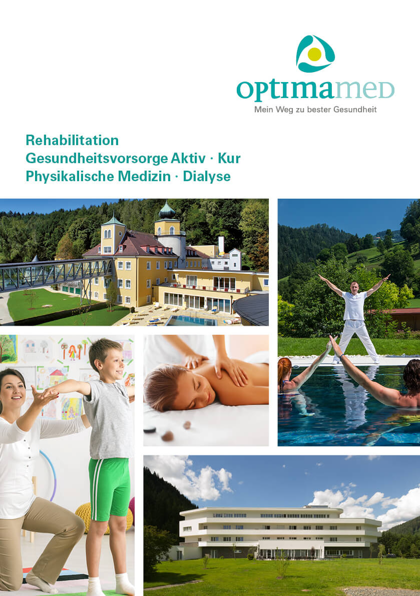 Cover OptimaMed Infofolder