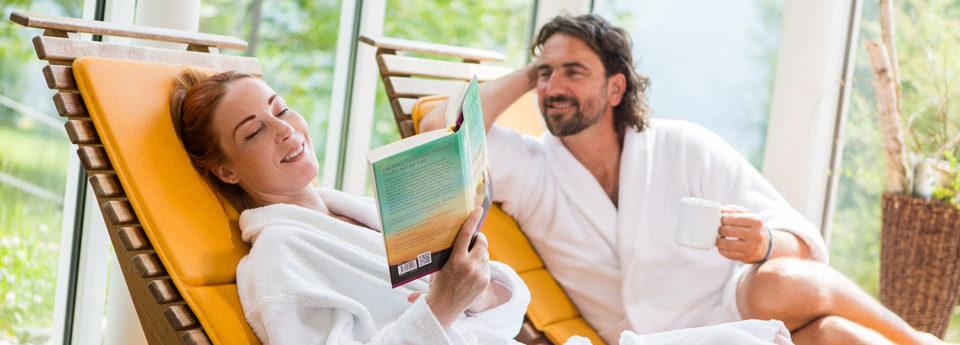 Raum und Zeit für Entspannung
